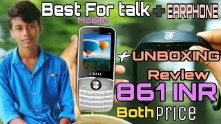 Best Phone For talk Under Rs 1000 || I kall K40 Unboxing Hands On Full Review