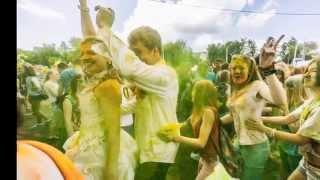 Фестиваль красок Холли в Твери