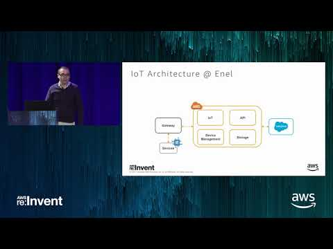 AWS re:Invent 2017: IoT @ Enel: a New Generation IoT Core Platform (IOT312)