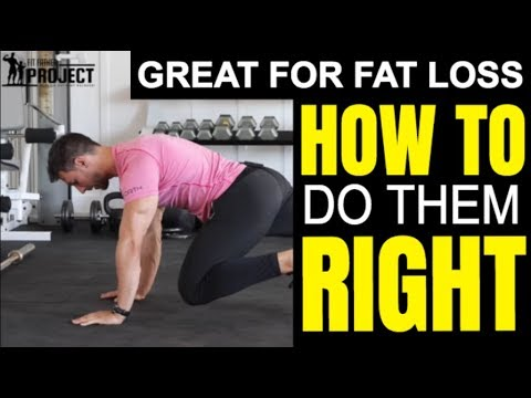 How to Do Mountain Climbers Properly - Great Core Exercise for Beginners