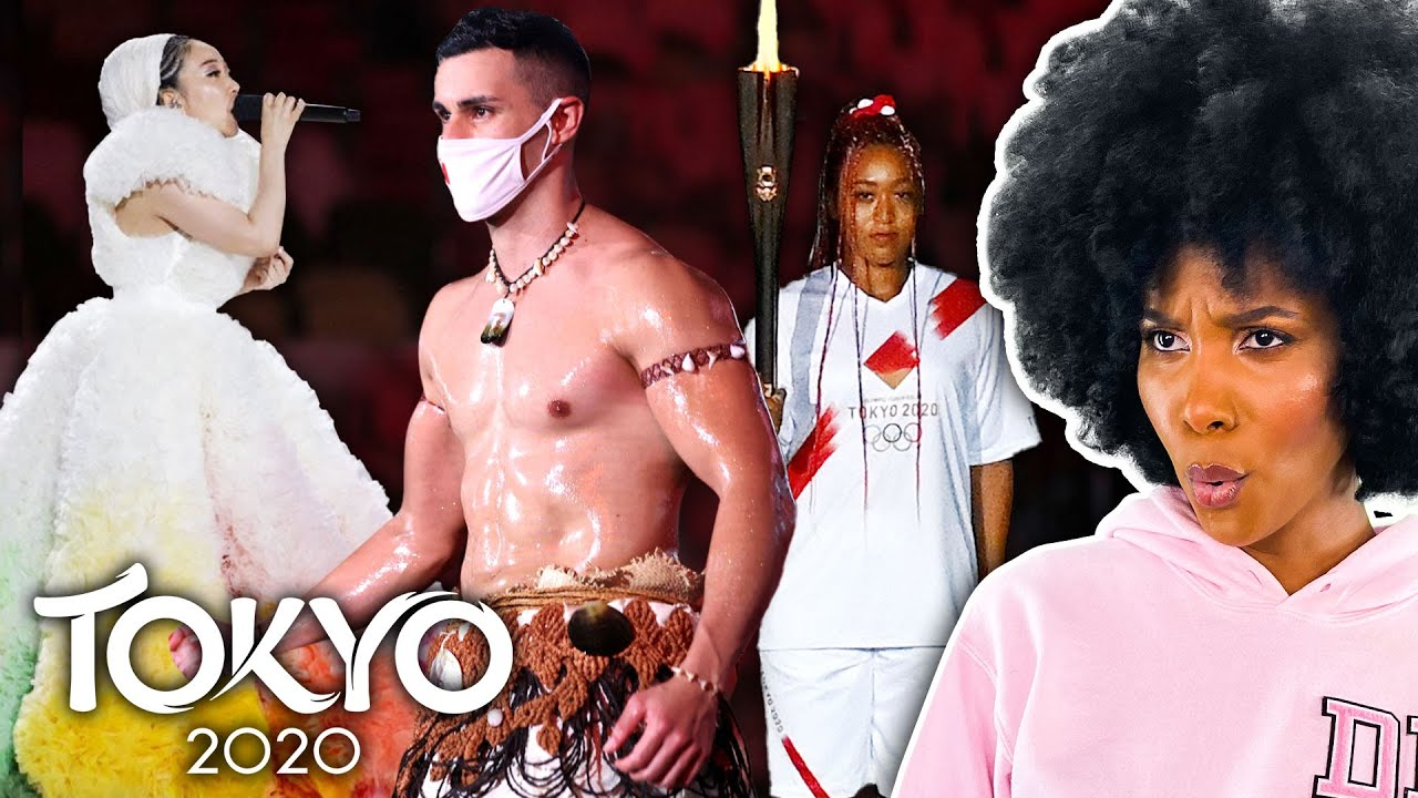 Reacting To Tokyo Olympics Opening Ceremony Fashion (Dirty Laundry)
