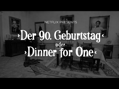 Dinner for One à la Netflix (2016)