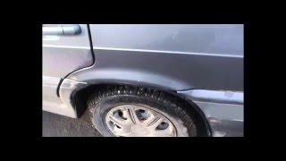 видео Как убрать небольшую ржавчину. How to removal a small rusty area.