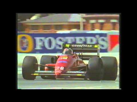 News item on Gerhard Berger, 1995 Adelaide Grand Prix