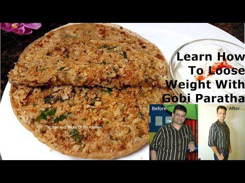 Gobi Paratha Recipe Punjabi Style For Weight Loss | Gobhi Ka Paratha In Hindi | Cauliflower Paratha