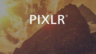 Pixlr Editing App