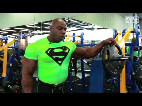 Мастер-класс Toney Freeman. Тренировка грудных мышц.