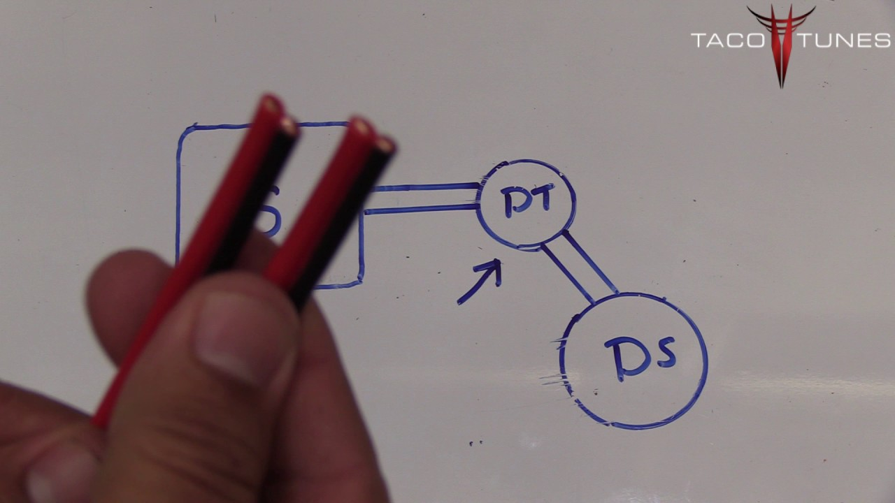 Toyota Camry How To Wire The Dash Tweeter Speaker Part 1 2012 2017 Wiring Diagram 2 Ohm 4