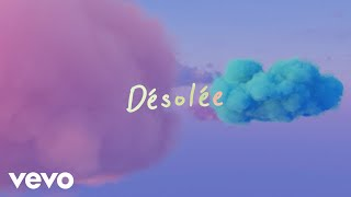 Louane - Désolée (Lyrics Video)