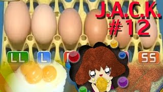 JACK#12 Amazing Facts About Chicken Eggs :Size, Colour and Special