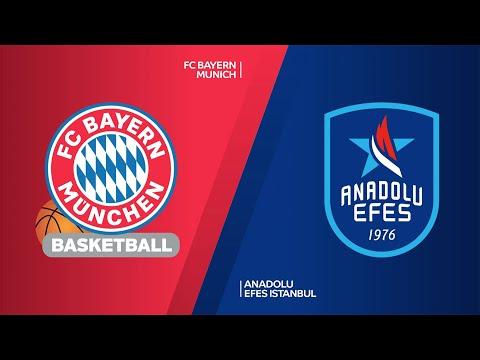 FC Bayern Munich - Anadolu Efes Istanbul Highlights   Turkish Airlines EuroLeague, RS Round 30