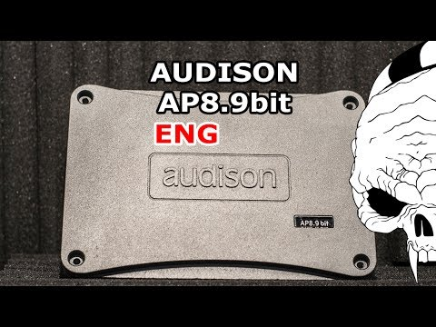 ENG | Audison AP8.9bit 8-channel amplifier with DSP