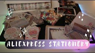 (kpop) aliexpress stationery haul #9