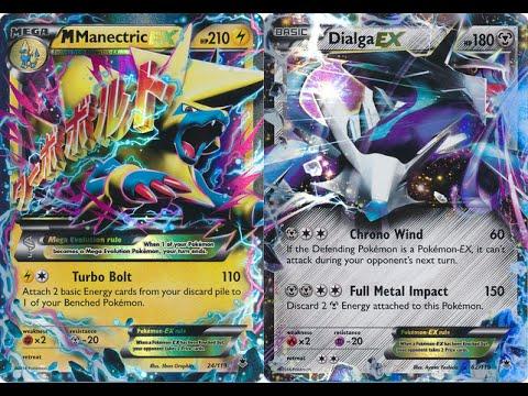 Pokémon TCG - Deck Review + Gameplay: Manectric-EX / Dialga-EX