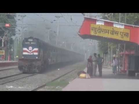 (HD) 12Hrs Late Jannayak Express skipping Pusa