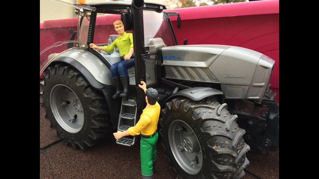 трактор lamborghini 25