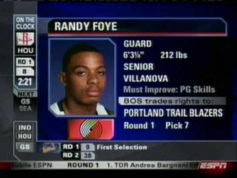 Randy Foye - 2006 NBA Draft