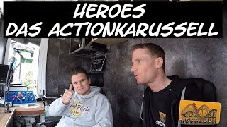 Heroes Das Actionkarussell Fick | Funfair Blog #109 [HD]