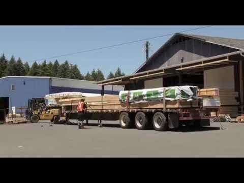 Pacific Homes Building Package Being Loaded