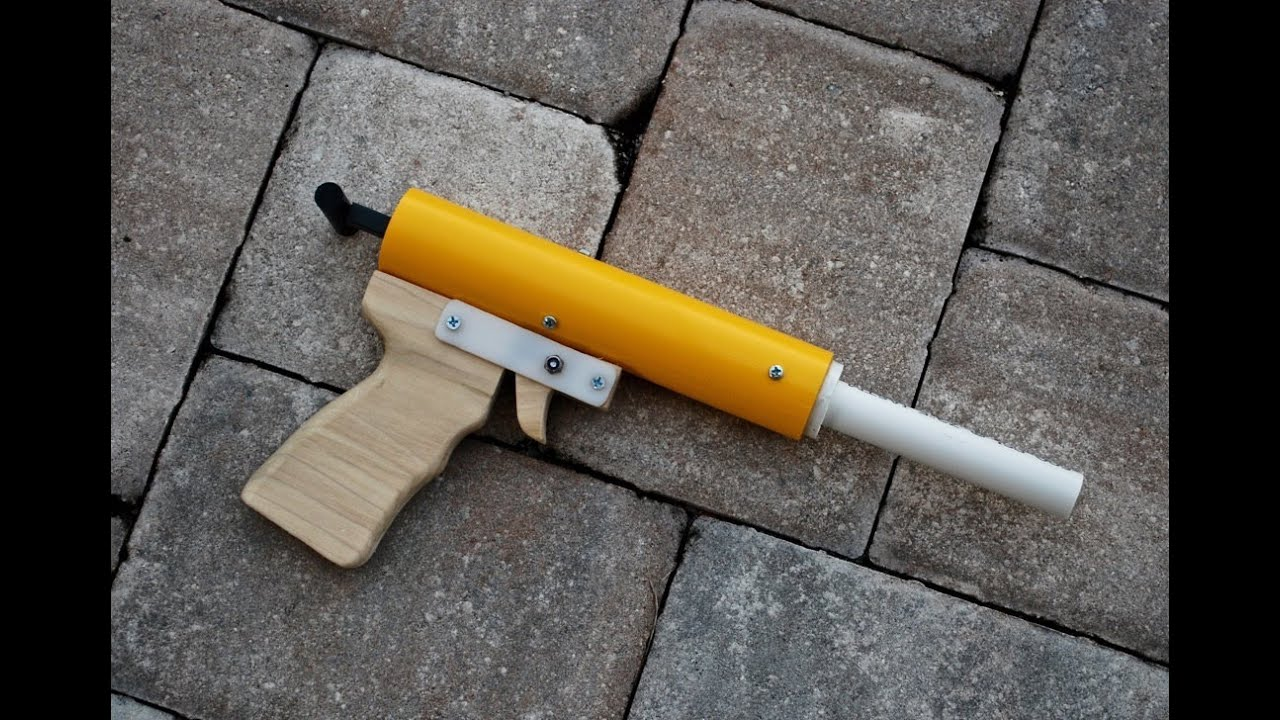 [HOMEMADE] Rainbow Pistol - Homemade Nerf Gun