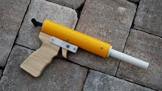 [HOMEMADE] Rainbow Pistol - Homemade Nerf Gun