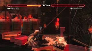 DOA5U Replay 14: Offbeat Ninjas(Gen Fu) vs oOKiTTyCoLaOo(Momiji)