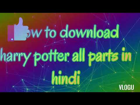 Download How to download harry potter all parts in hindi