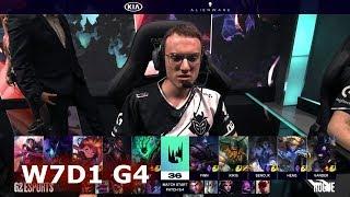 G2 eSports vs Rogue | S9 LEC Spring 2019 Week 7 Day 1 | G2 vs RGE W7D1