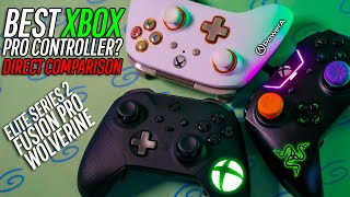 What REALLY Is The Best Xbox Pro Controller? (Elite Series 2 vs Fusion Pro vs Wolverine)