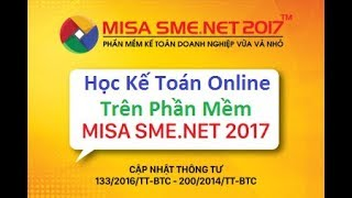 Học Phần Mềm Kế Toán MiSa Online - Trong vòng 7 ngày