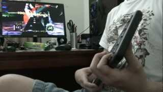 guitar hero (with PC keyboard) noob