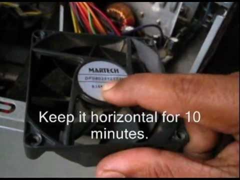 How to - Repair a CPU fan