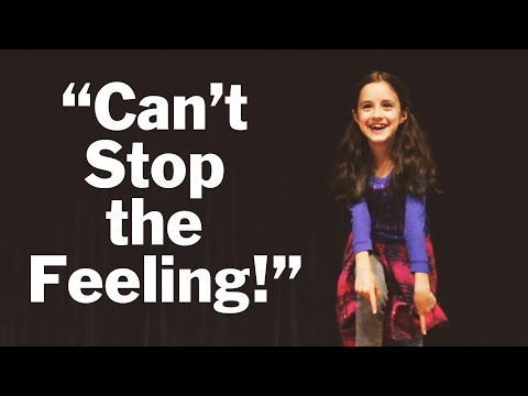 """Can't Stop the Feeling"" (Music Video) Rainbow Community School"
