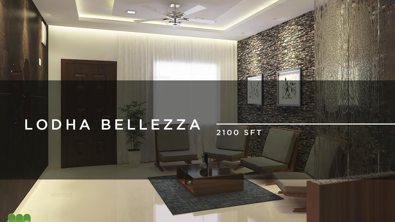 Lodha Bellezza interior design project by Hometrenz - Top ...