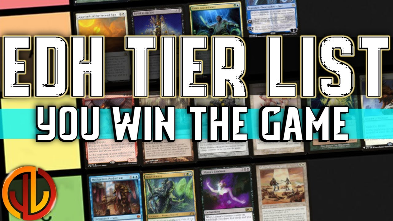 Ranking Each You Win The Game Card In Commander Mtg Edh Tier List Youtube Lol community tier list discussion this is a crowd sourced tier list meant for discussion and fun. ranking each you win the game card in commander mtg edh tier list