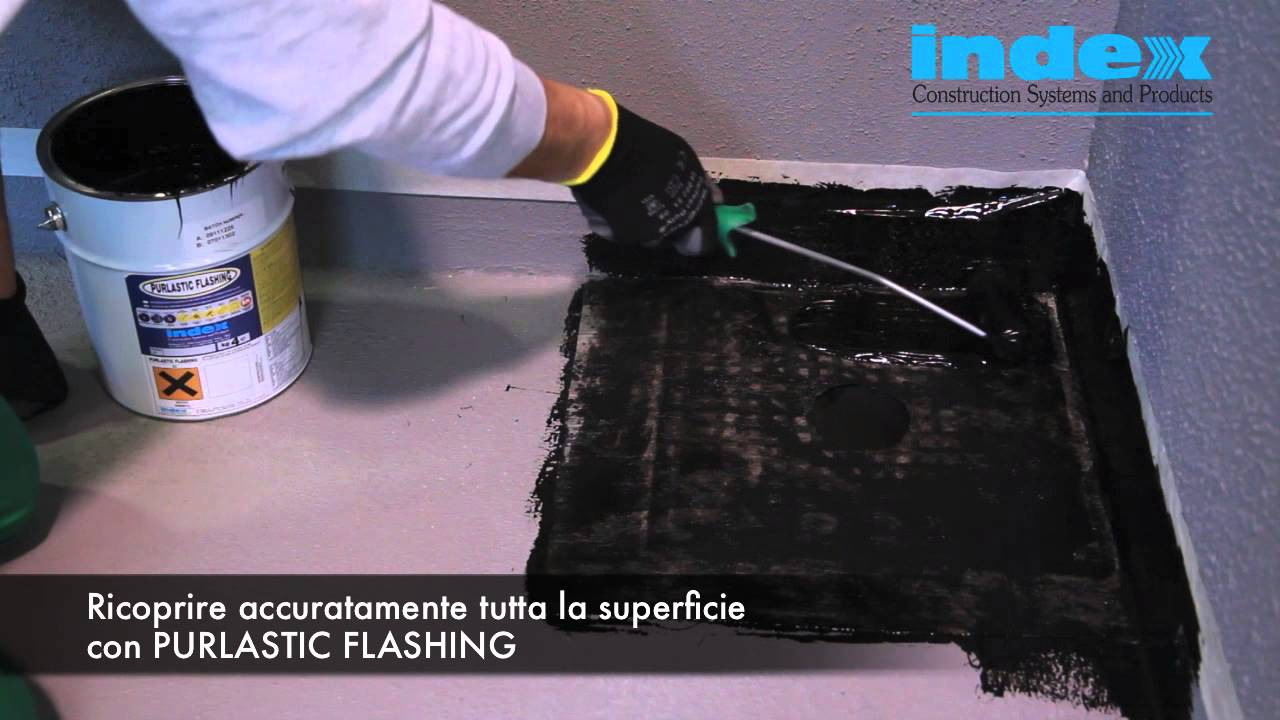 PURLASTIC FLASHING - INDEX S.p.A. - Impermeabilizzazioni - YouTube