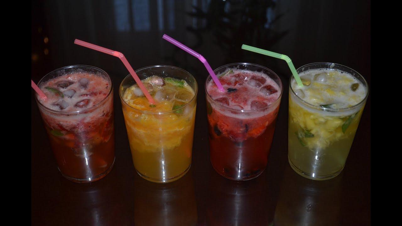 Cócteles refrescantes sin alcohol - YouTube  Cócteles refre...