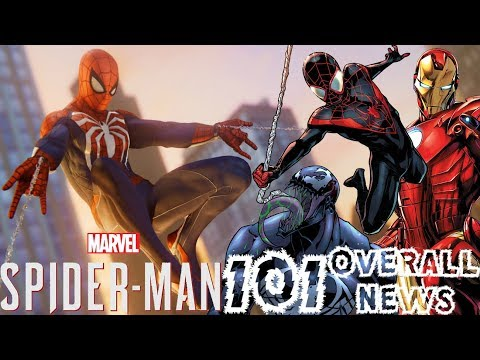 Spider-Man PS4: 101 - Sequel Info, DLC Details, MGU, Co-Op, & More!!! Overall News Update!!!