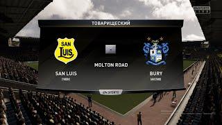 Футбол San Luis Чили Bury Англия Виртуальный Кубок Random CUP 1 8 финала FIFA