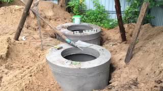 видео Где заказать установку автономной канализации