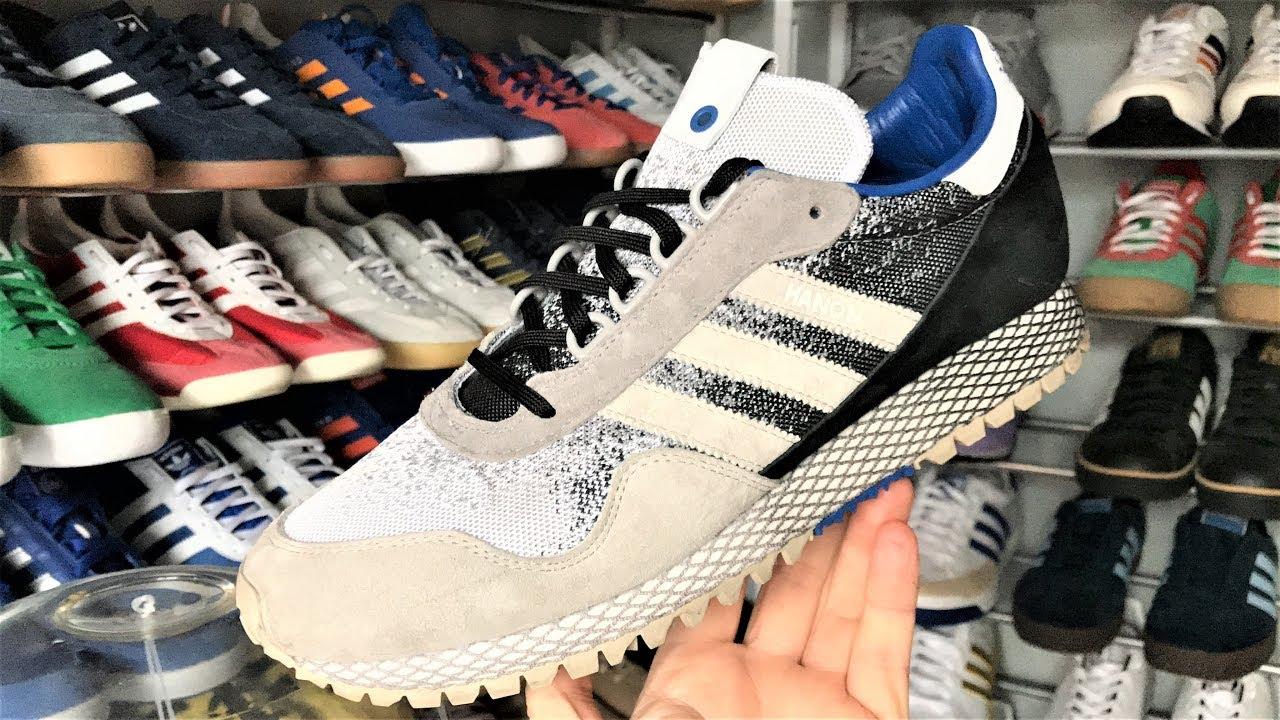 sale retailer b11e7 bb60c adidas NEW YORK HANON DARK STORM  Unboxing  Review  On Foot