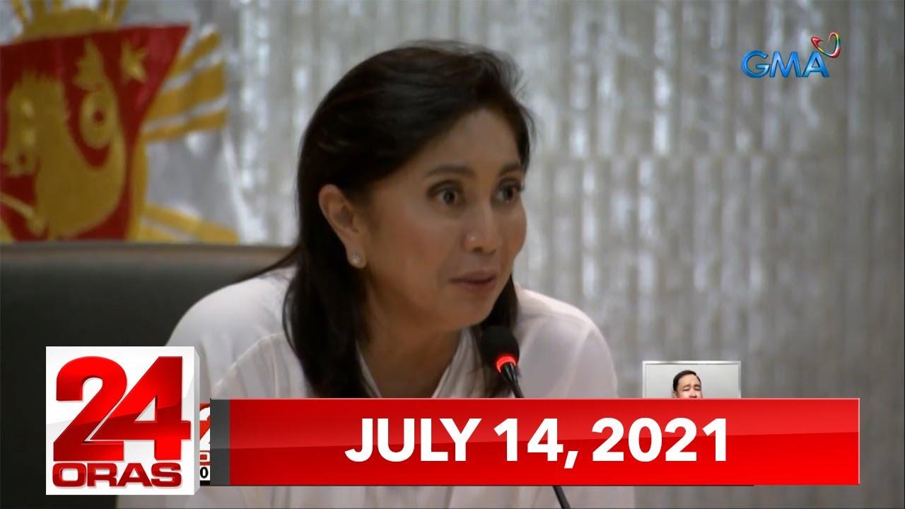 24 Oras Express: July 14, 2021 [HD]