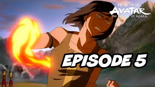 Legend Of Korra Season 4 Episode 5 - TOP 5 WTF Moments