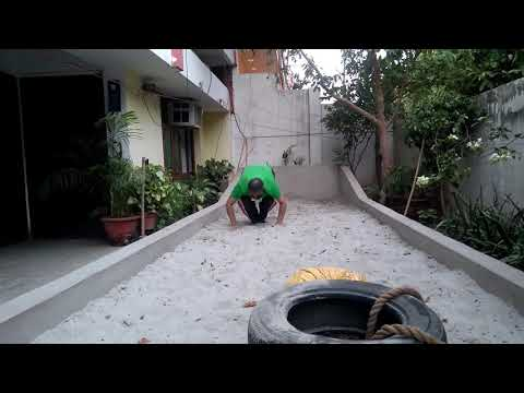 Dr Syed Rizwan Ahmed Adv@Fitness Challenge 2/frog jump