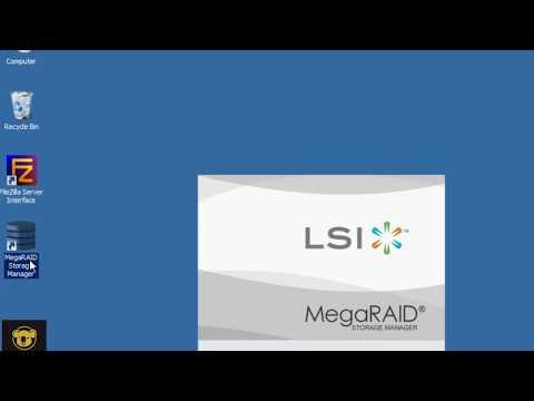 HOW TO INSTALL AND CONFIG IBM SERVER MEGA RAID CONFIG - YouTube
