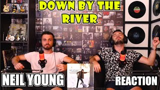 FIRST TIME Reaction To NEIL YOUNG - DOWN BY THE RIVER | FASCINATING!!!