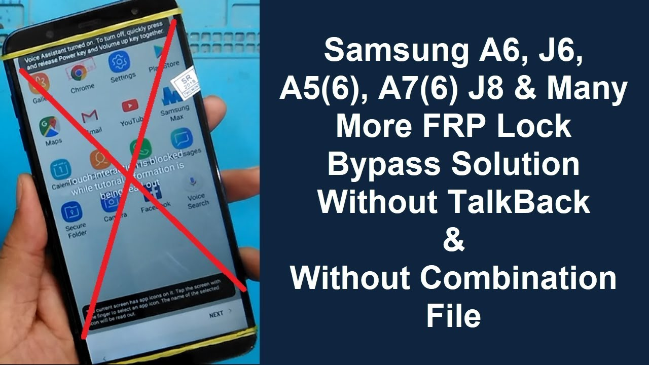 Samsung J8 (SM-J810G) FRP (Google Account) Lock Remove Done Without  Combination | Without PC Method