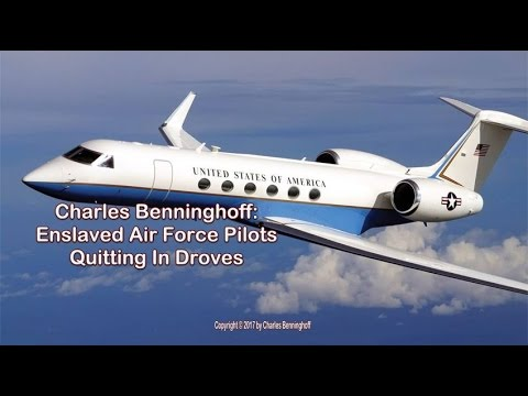 Charles Benninghoff: Fed Fatcats Enslaved Pilots Quitting Now