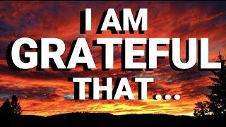 🌟GRATITUDE AFFIRMATIONS (1 HOUR) | Morning Gratitude Affirmations