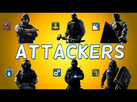 Rainbow Six Siege Operators ATTACKERS - Rainbow Six Siege Overview
